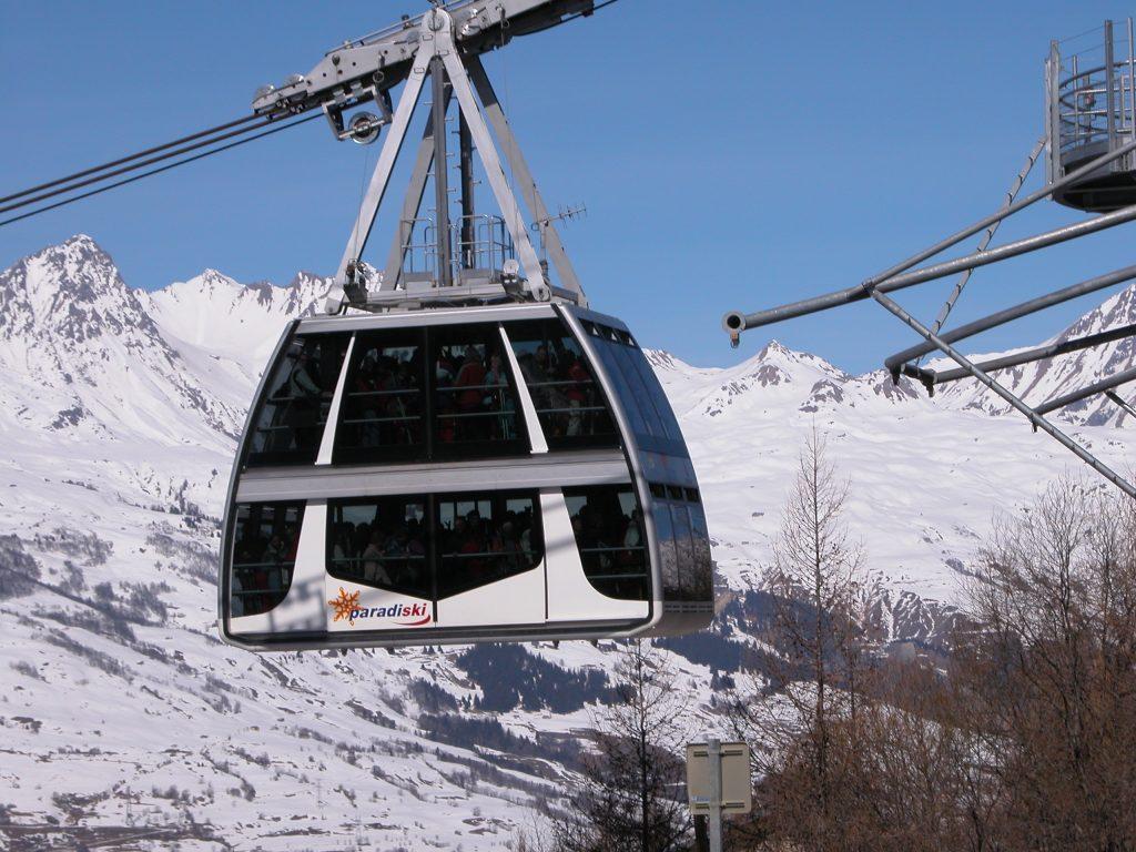 Vanoise Express Links La Plagne and Les Arcs