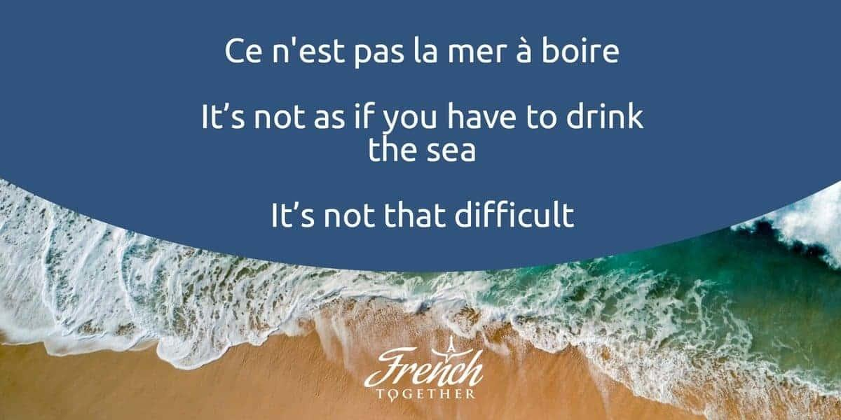 12 french sayings locals
