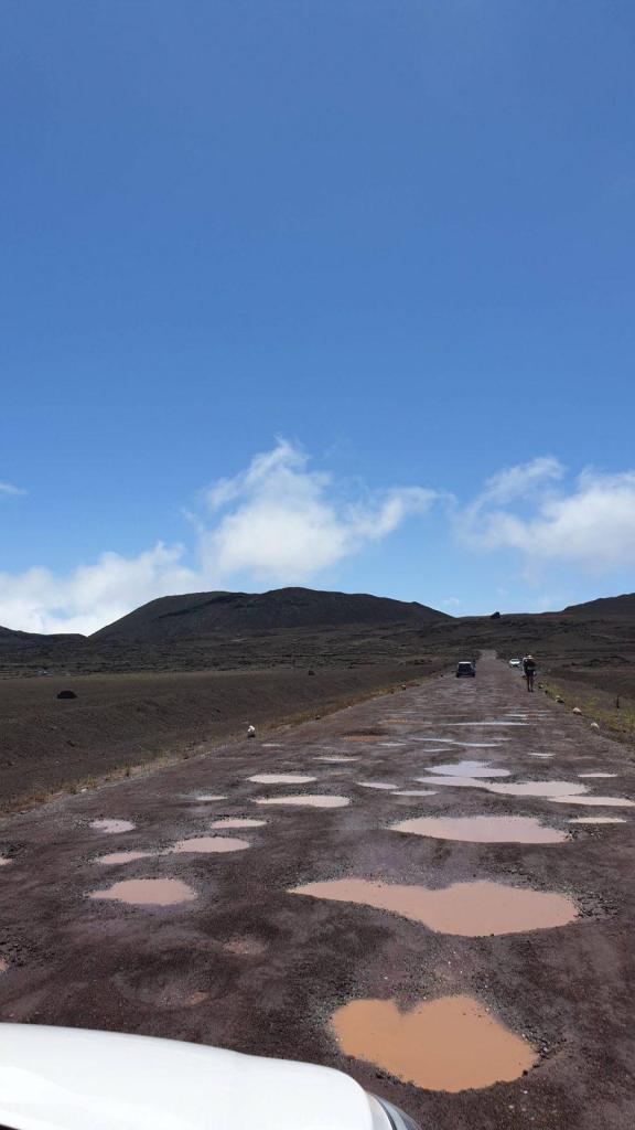 Conduire à La Réunion Route du volcan, Plaine des Caffres, La Réunion