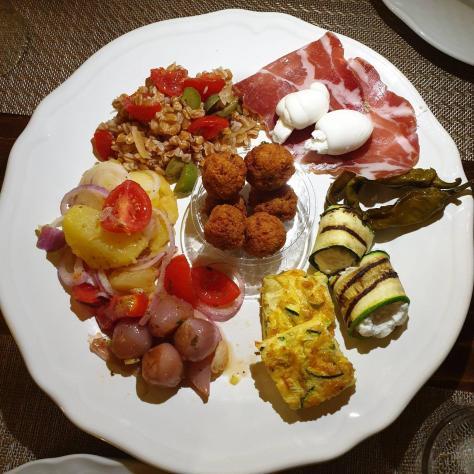 Assiette italienne, Doppiozero, Lecce, Italie