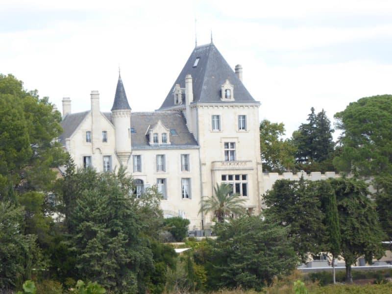 Ch Les Carrasses nr Quarante September 2017