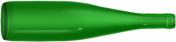 Alsace wine bottle