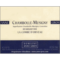 Domaine Anne Gros wine label