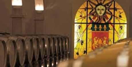 Wine cellar at Chateau de Berne