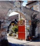 Gateway at Domaine Borgnat
