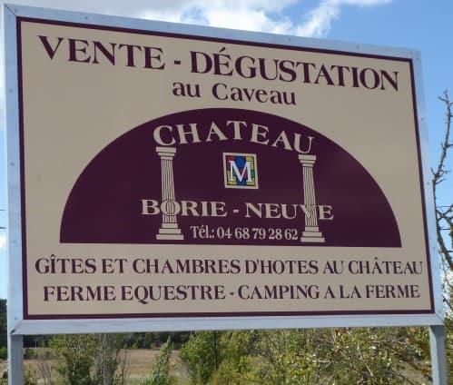 Ch Borie Neuve September 2017