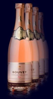 Bouvet-Ladubay bottles