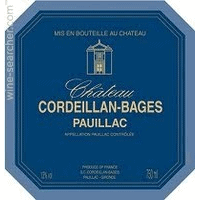 Chateau Cordeillan-Bages wine label