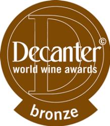 Decanter Bronze Medal 2017