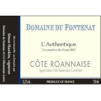 Domaine de Fontenay Cote Roannaise wine label