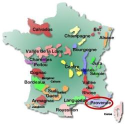 France map - Provence