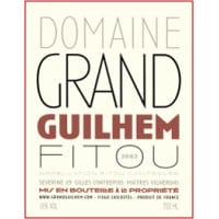 Domaine Grand Guilhem wine label