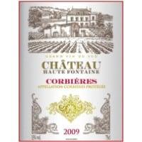 Chateau Haute-Fontaine wine label