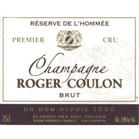 Champagne Roger Coulon label