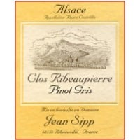 Domaine Jean Sipp wine labe;