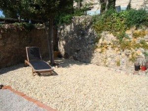 Garden at Domaine Treolar