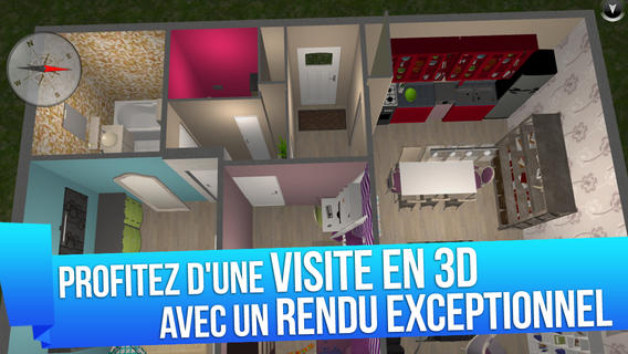 Bon App' Home Design 3D Application D'architecture Et De