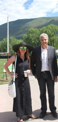 Simone and Eric Ripart at Aspen (3)
