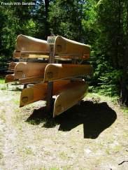 canoes-killarney-park