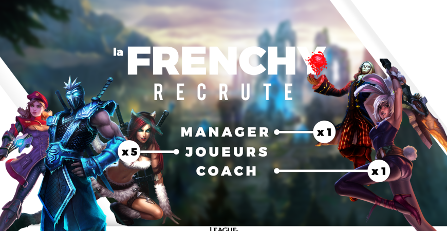 Recrutement League Of Legends