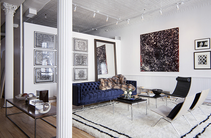 Un Showroom Conu Comme Un Intrieur Frenchy Fancy