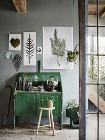 Botanical Green Home Office