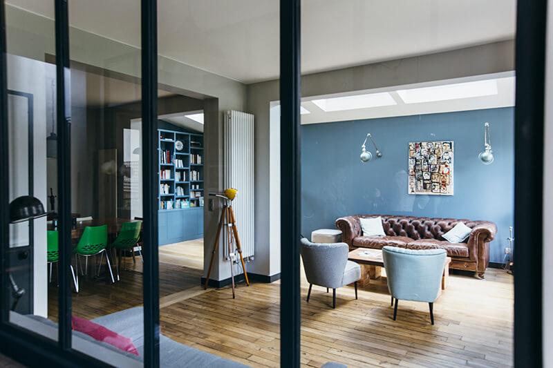 Nuances De Bleu Amp Style Industriel Frenchy Fancy