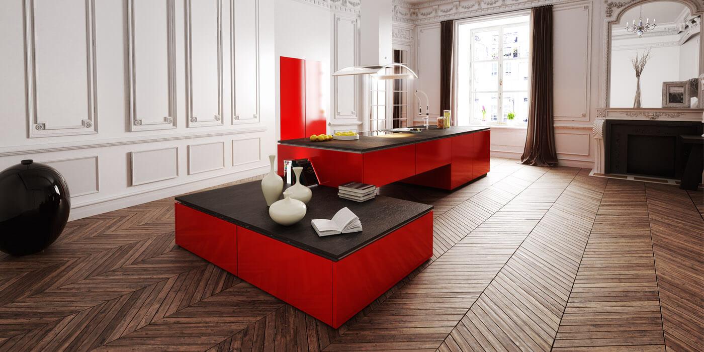 poignée cuisine design
