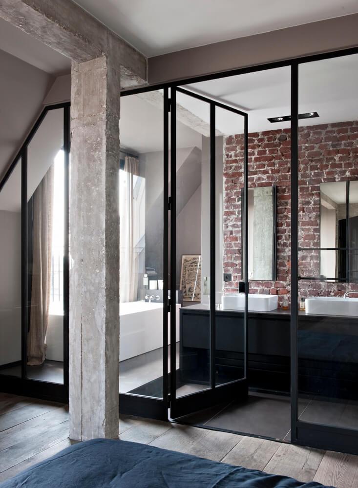 Inspiration Des Portes Vitres Style Atelier Frenchy Fancy