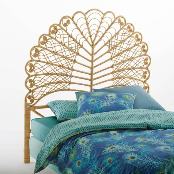 in love with la t te de lit en rotin tio frenchy fancy. Black Bedroom Furniture Sets. Home Design Ideas
