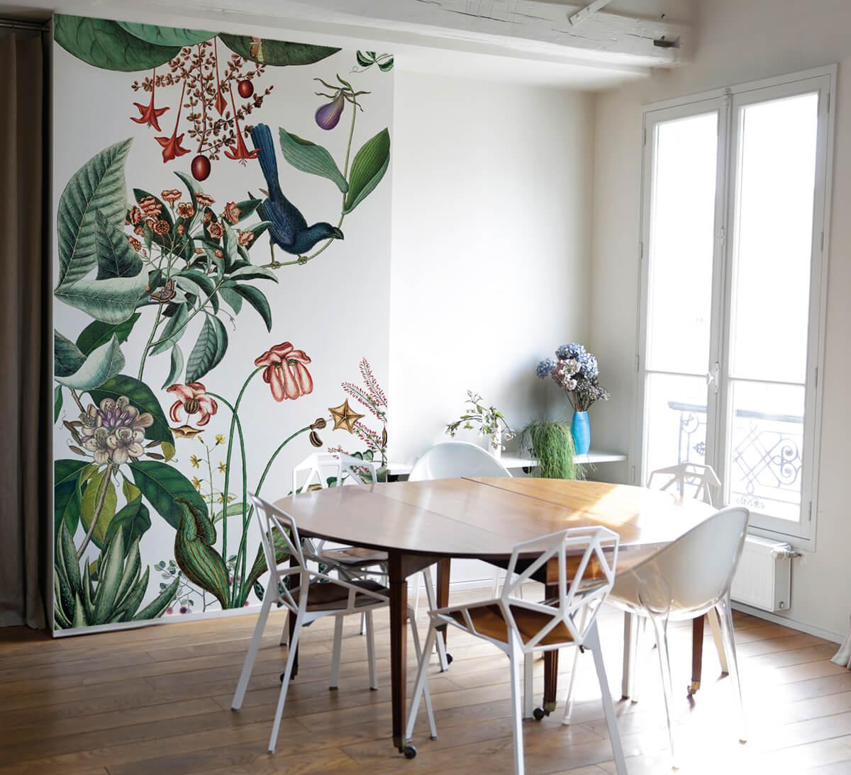 Bahamas Le Nouveau Papier Peint Floral Sign Bien Fait