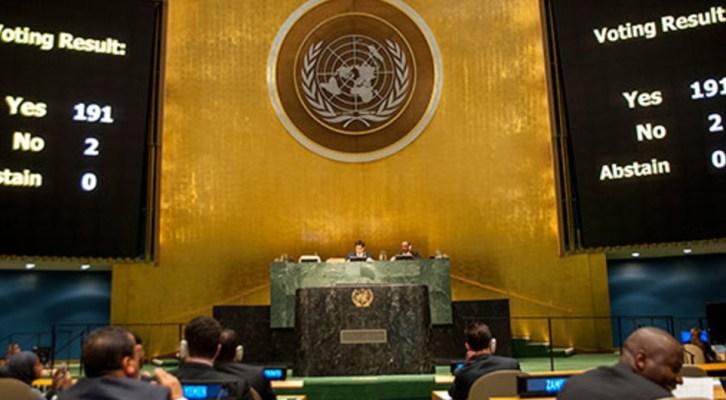 Asamblea General de las Naciones Unidas, del 18 al 25 de Septiembre. Cubamundo: dialéctica de ayer, dialéctica de hoy, dialéctica de mañana .