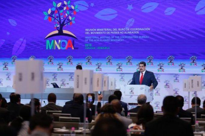 Intervenção do Presidente Nicolas Maduro na Reunião dos Não-Alinhados em Caracas