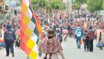 Bolivia clama resistencia