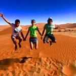 Maud la worldwildrunneuze en Namibie !