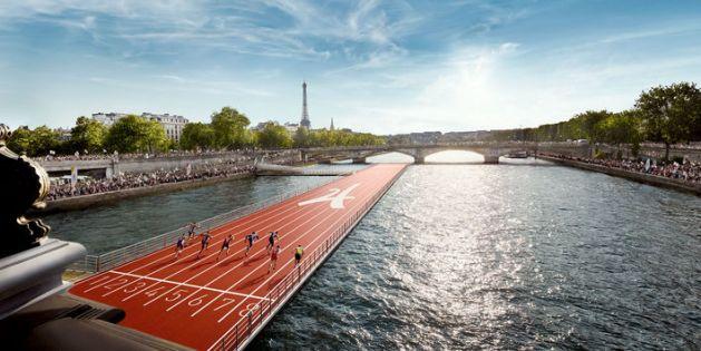 piste d'athlétisme Seine