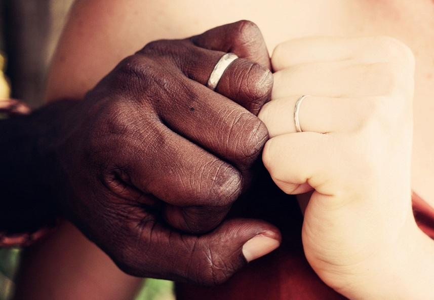 Que l'amour soit le ciment de notre couple.