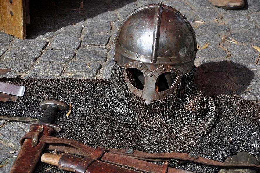 Les armes du chrétien: le casque du salut.