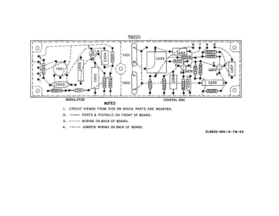 Figure 6 28 Fr 149 Usm 159 Crystal Oscillator And Modulator Circuit Wiring Diagram