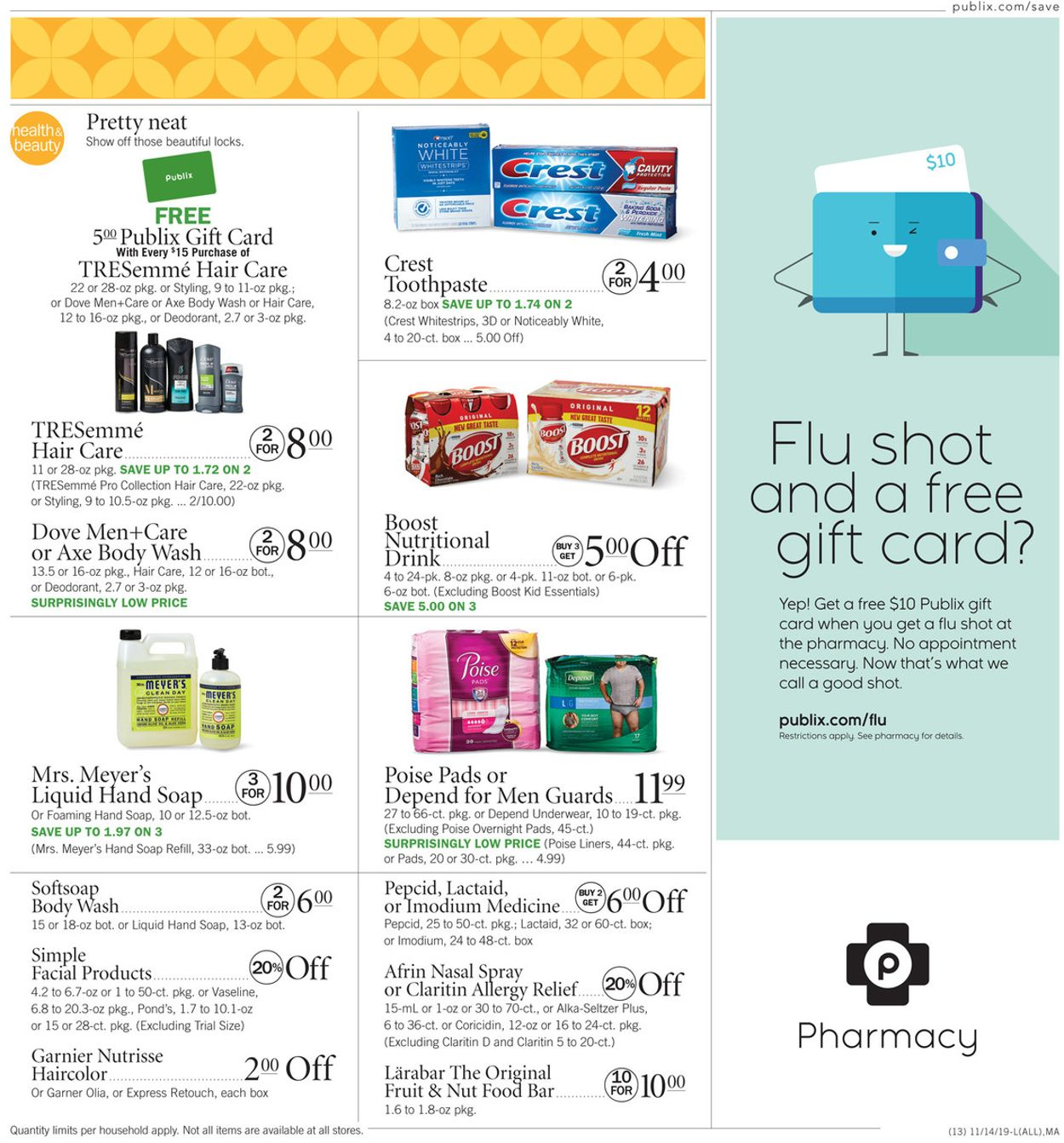 Publix Current weekly ad 11/14 - 11/20/2019 [17 ...