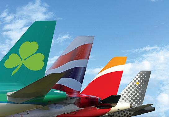 IAG Bienvenido Iberia IAG shopper hos Boeing kaptein hos IATA