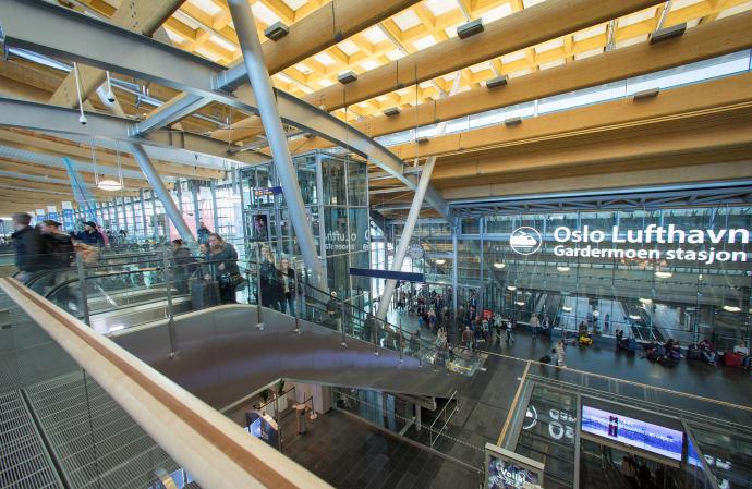 har flyttet inn på Oslo lufthavn