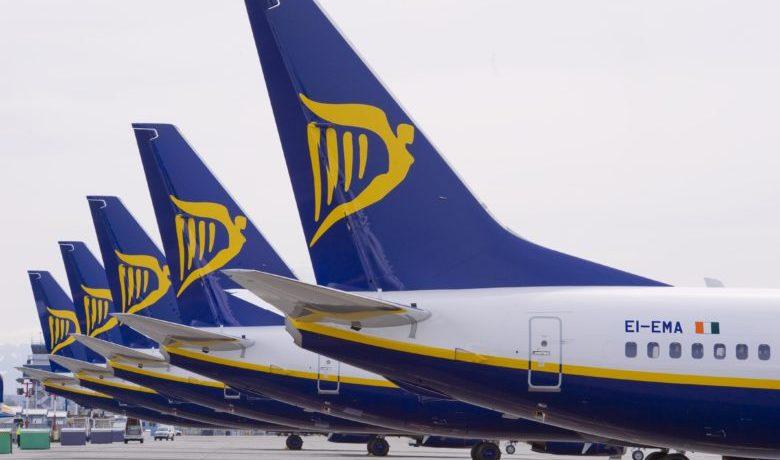 Ryanair kansellerer