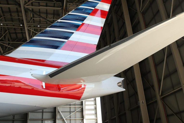 American Airlines sliter