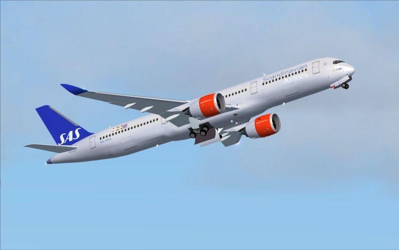 SAS A350 900 XWB Nesten tre millioner passasjerer SAS lanserer de første Airbus A350
