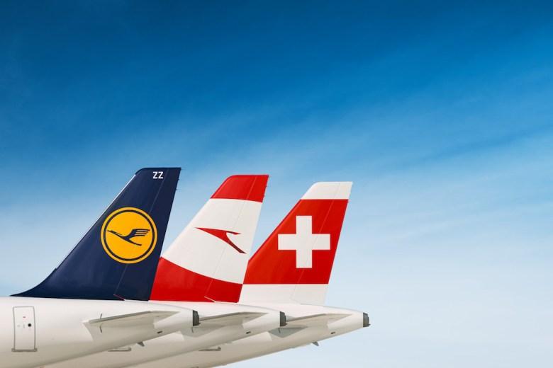 Lufthansa gruppen SAS rangert etter Ryanair