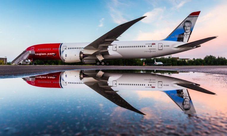 Norwegian setter opp ekstra Norwegian med Norwegian selger fly