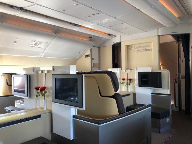 fly Lufthansa First Class