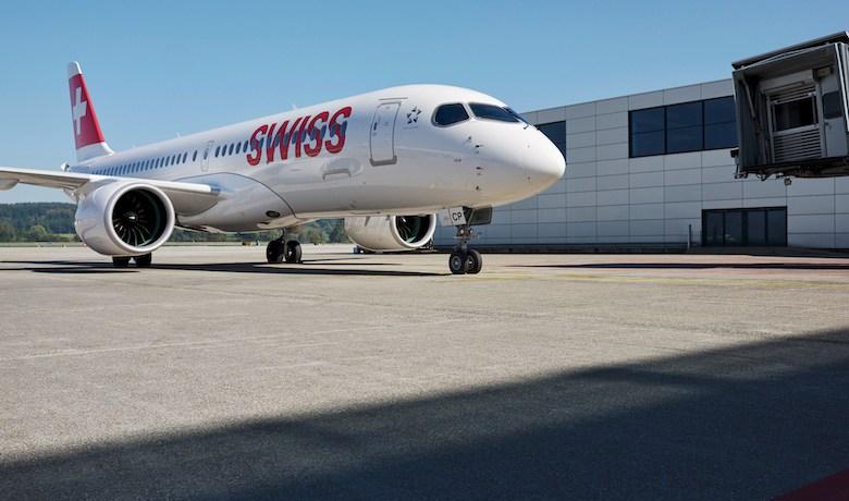 Swiss setter sine Airbus