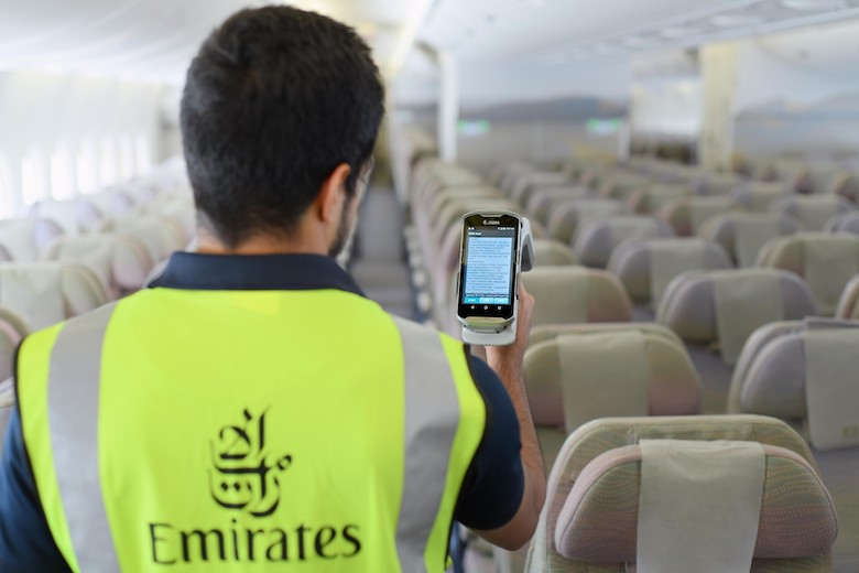 Emirates effektiviserer kontroll